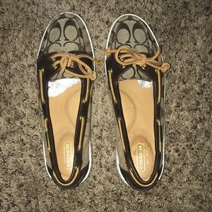 EUC Coach Loafers / Boat Shoes
